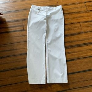 BCBG Maxazria White summer pants